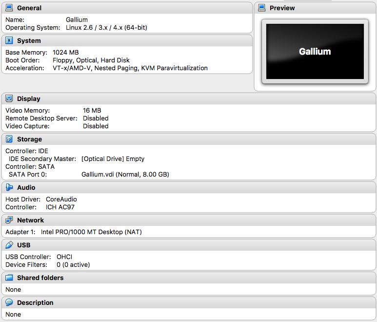 Installing/VirtualBox - GalliumOS Wiki